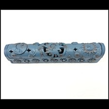 Blue Celestial Coffin Incense Burner