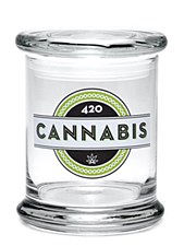 420 Science Pop Top Large Jar 420 Cannabis