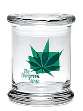 420 Science Pop Top Large Jar Evergreen State