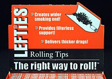 Lefties Rolling Tips