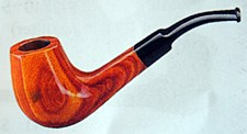 Calabash Wood Traditional Pipe