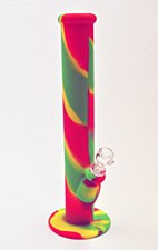 Silicone Water Pipe Rasta