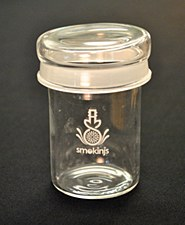 Smokin Js 50mm Thick Stash Jar