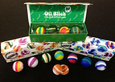 Oil Slick Ball Mini 4 Pack