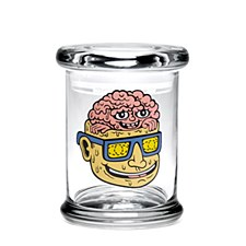420 Science Pop Top Stash Jar Large Teen Lobotomy