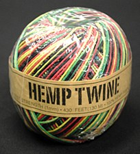 20lb Test Rasta Hemp Twine