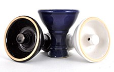 White Vortex Hookah Bowl