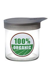 420 Science Medium Wide Mouth Stash Jar 100% Organic