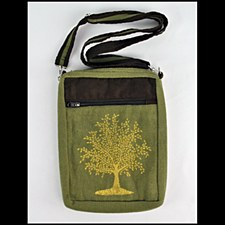 Tree of Life Shoulder Bag Gree