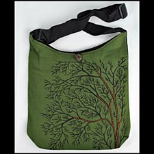 Yogi Tree of Life Bag Green