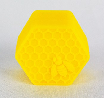 Hexagonal Bee Hive Silicone Oil Storage Jar