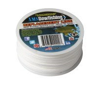 fast Flight Line 50 Yards of 400# Line - White