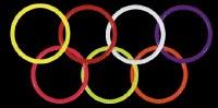"Black Gold Sight Ring 1 3/4"" G"