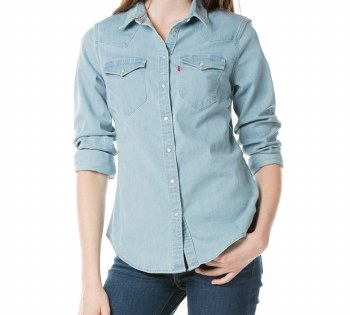 Women's Tailored Classic Western Vintage Top