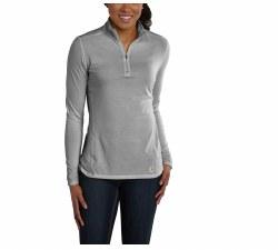 Women's Carhartt FORCE® Performance Quarter-Zip Shirt