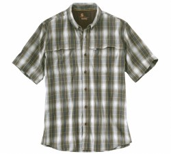 Men's Carhartt Force Mandan Button-Down Short-Sleeve Shirt