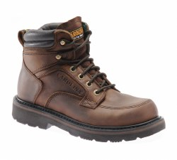 Men's 6-inch Steel Toe Broad Toe Work Boot