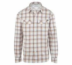 Men's Silver Ridge Plaid Long-Sleeve Shirt