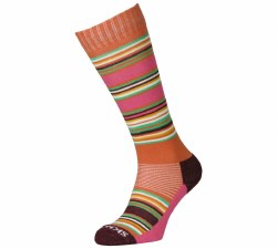 Hot Stripe Sock