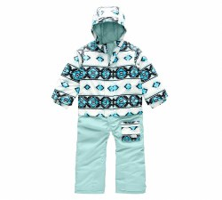 Girl's Toddler Insulated Jumpsuit