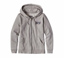 Women's Pointed West Mid Weight Full-Zip Hoody