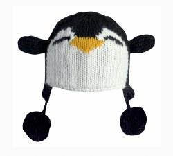 Kids' Penguin Beanie