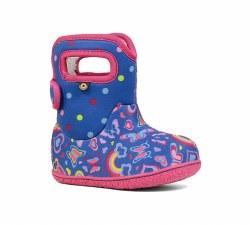 Girl's Baby Bogs Rainbows
