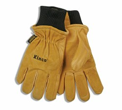 Golden Premium Suede Pigskin Glove w/ Heatkeep Thermal Insulation