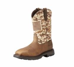 WorkHog Patriot Steel Toe Work Boot