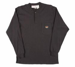 Men's Henley T-Shirt - BTF457/FR0101BK