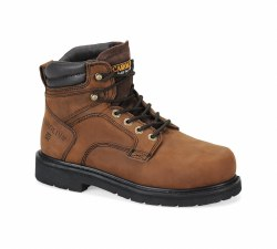 Men's 6-inch Broad Steel Toe Internal MetGuard Boot