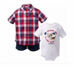Boys' Infant/Toddler Carhartt 3-piece Gift Short Set