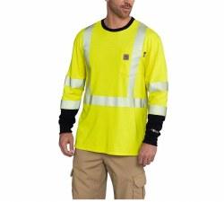 Men's FR High Vis Force Long Sleeve T Shirt