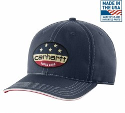 Men's Flag Patch Cap