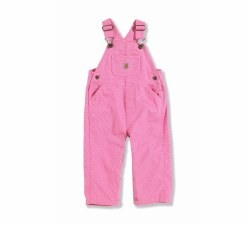 Girls' Canvas Bib Overalls