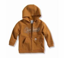 Boys' Infant Logo Fleece Zip-Front Sweatshirt
