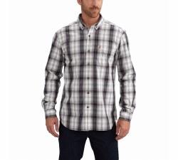 Men's Essential Plaid Button Down LS Shirt