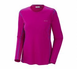 Midweight II Ws LS Top/Groovy Pink