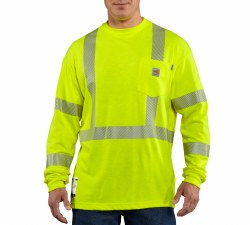 Men's FR High Vis Long Sleeve T-Shirt