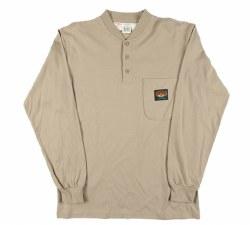 Men's Henley T-Shirt - KTF452/FR010KH