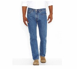 Men's 505 Regular Fit Medium Stone Wash