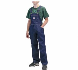 Youth Made in USA Superior Bib Overall