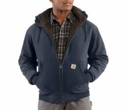 Men's Collingston Brushed Fleece Sherpa-Lined Sweatshirt