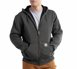 Men's RD Rutland Thermal-Lined Hooded Zip-Front Sweatshirt