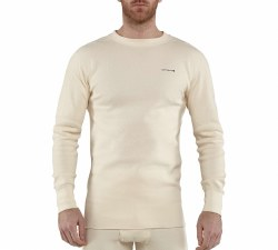 Men's Base Force Cotton Super-Cold Weather Crewneck Top