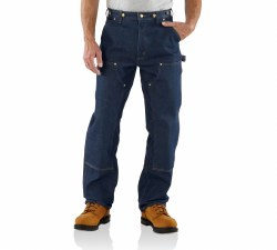 Men's Loose/Original-Fit Double Front Logger Dungaree