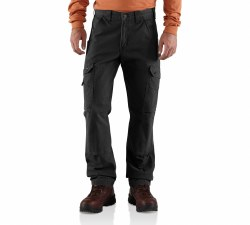 Men's Cotton Ripstop Cargo Work Pant