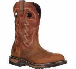 Men's Original Ride Branson Saddle Roper Western Boot