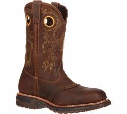 Men's Original Ride Steel Toe Western Work Boot