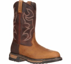 Men's Original Ride Branson Roper Steel Toe Western Boot